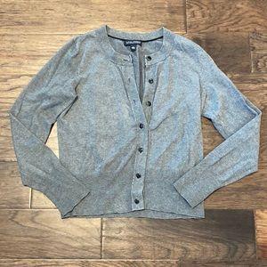 Gray Medium Banana Republic Button Cardigan